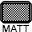 Matt kijelző