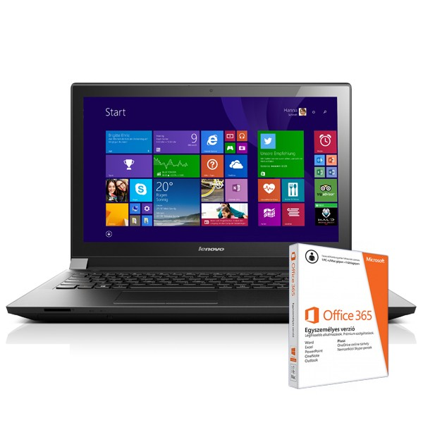 Lenovo B50-30 Black 59-441683 W8.1 8GB +O365 Laptop