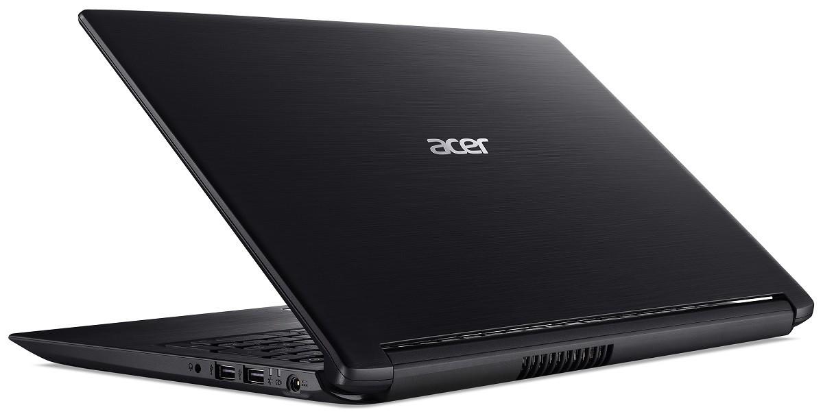"""Acer Aspire 3 (A315-21G-43W7) - 15.6"""" HD, AMD DualCore A4-9125, 4GB, 1TB HDD, AMD Radeon 520 2 GB, Linux - Fekete Laptop"""