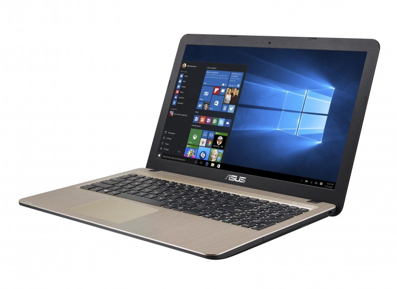 "Asus VivoBook X540MB - 15.6"" HD, Celeron N4000, 4GB, 500GB HDD, nVidia GeForce MX110 2GB, Linux - Fekete Laptop"