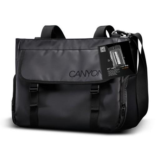 Laptop válltáska CANYON Black (CNL-MBNB14)